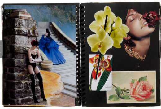 Lauren Santo Domingo Scrapbook