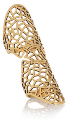 ZADIG & VOLTAIRE<br /> By Gaia Repossi 18-karat gold-plated ring