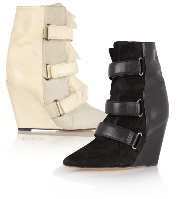 Isabel Marant wedge bootie