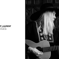 Joni Mitchell + Saint Laurent = Brilliant