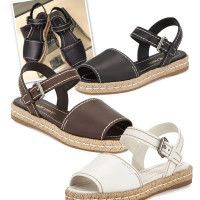 The Espadrille Sandal