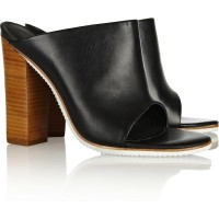 Stacked Heel + Mule = Chic