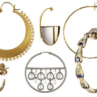 'Circling Back To Hoop Earrings'