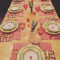 A Holiday Table