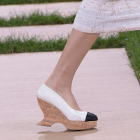 The Chanel Couture Wedge