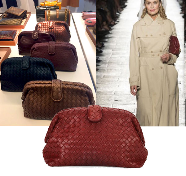 The Lauren clutch - Grey Bottega Veneta Pay With Visa Online For Nice For Sale Inexpensive Online With Credit Card Cheap Online Sale Classic Vgq72