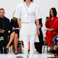 Layering Lesson at Victoria Beckham