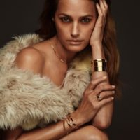 Yasmin in Iconic Jewelry and Faux Fur...