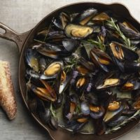 Skillet Mussels