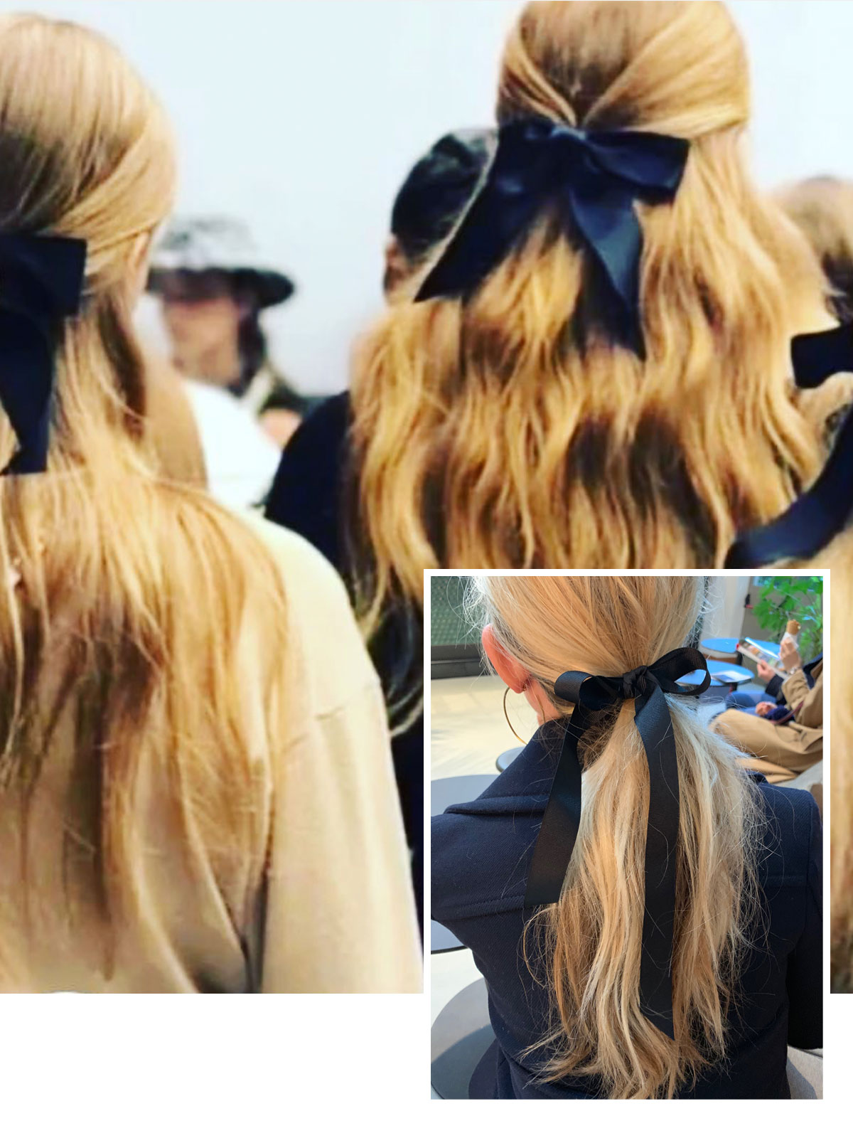 aec18c6843a47 I'm about to beat my little drum, again, about hair bows — they're  everywhere and look great. Knowing that I'm a fanatic, my friend  @kristina_oneill sent ...