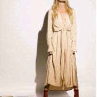 The Tie-Front Dress