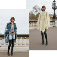 Ponchos & Over-The-Knee Boots