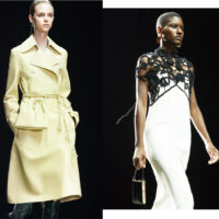 Jil Sander: The Perfect Yellow & A Hand-Crocheted Overlay